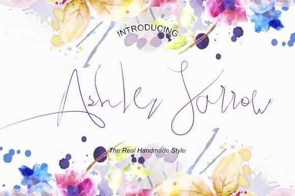 Download Ashley Jarrow font (typeface)