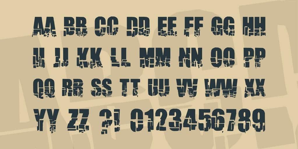 Download Breakaway font (typeface)