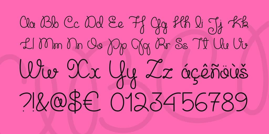 Download Cupcake Party font (typeface)