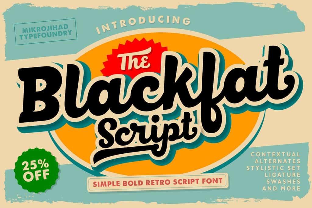 Download Black Fat Script font (typeface)