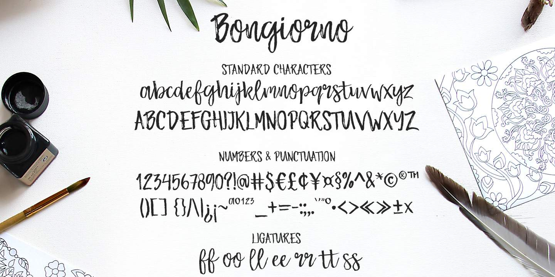 Download Bongiorno font (typeface)