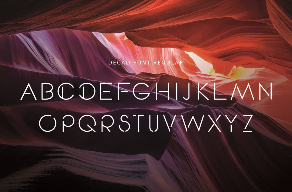 Download Decad font (typeface)
