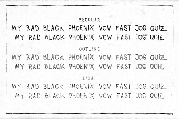 Download Auntie Lee Light font (typeface)