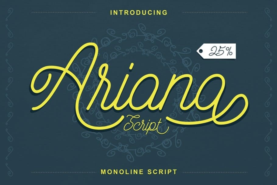 Download Ariana font (typeface)
