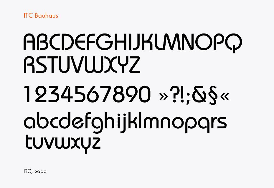 Download Bauhau font (typeface)