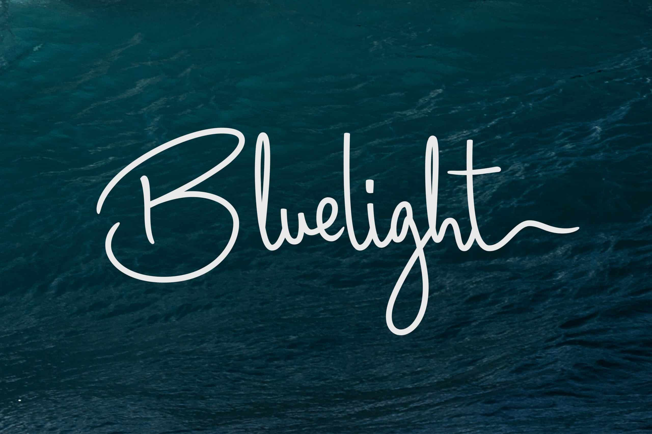 Download Bluelight font (typeface)