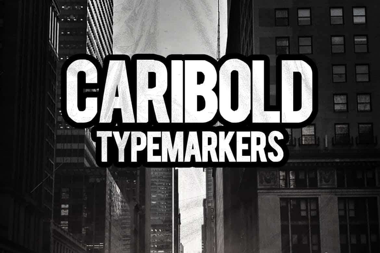 Download CARIBOLD font (typeface)