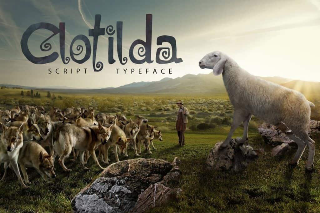 Download Clotilda font (typeface)