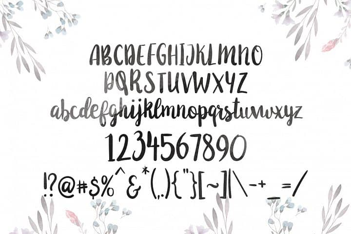 Download Anemone font (typeface)