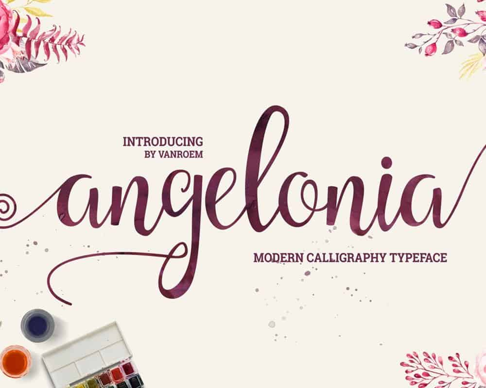 Download Angelonia font (typeface)