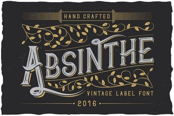 Download Absinthe font (typeface)