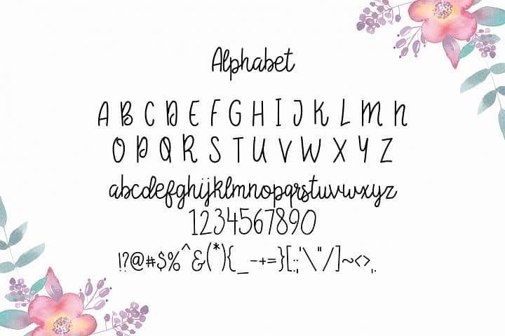 Download Begonia font (typeface)