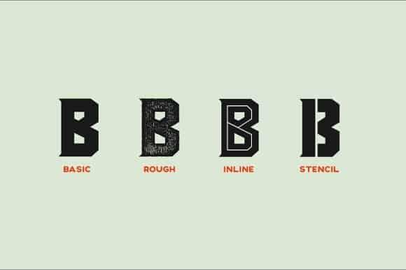 Download Blacktroops Basic font (typeface)