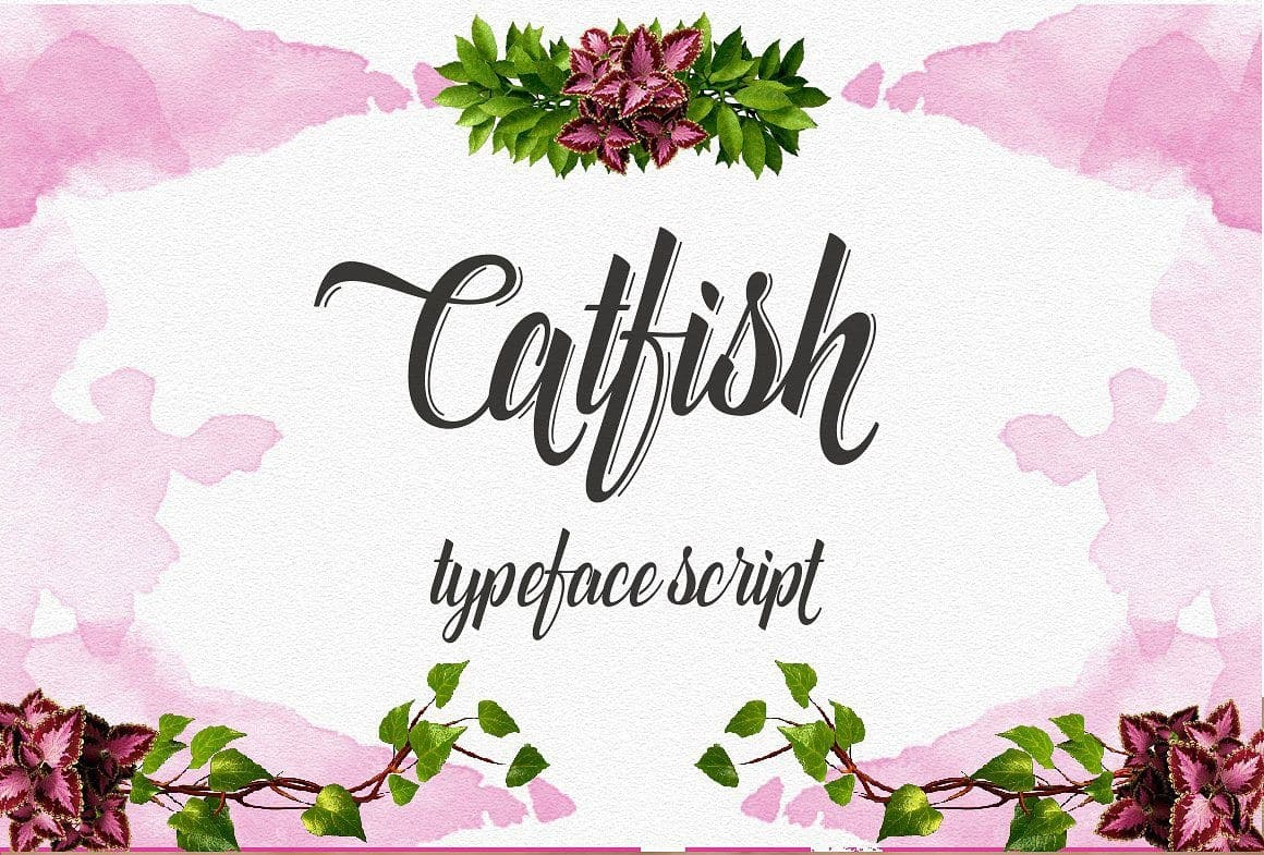Download Catfish Script font (typeface)