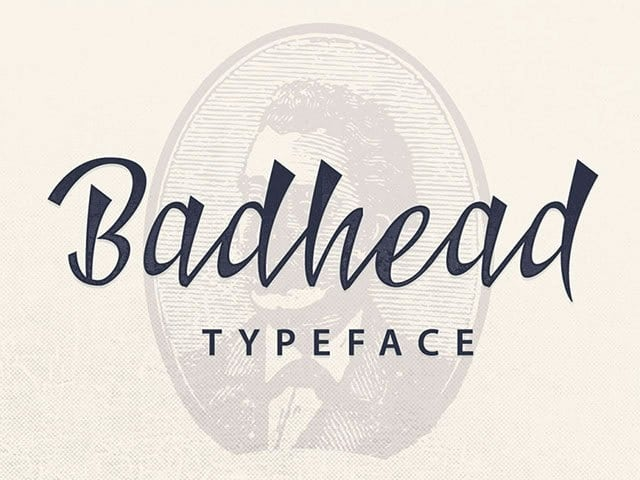 Download Badhead font (typeface)