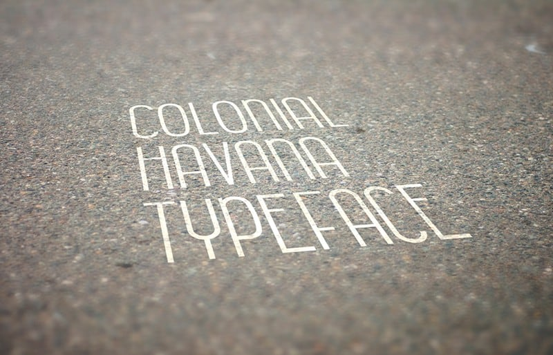 Download Colonial Havana font (typeface)