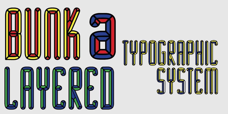 Download Bunk font (typeface)
