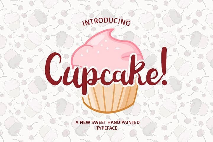 Download Cup Cake font (typeface)