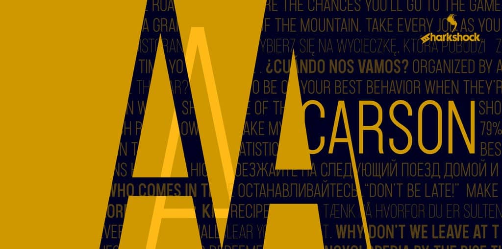 Download Carson Extra font (typeface)