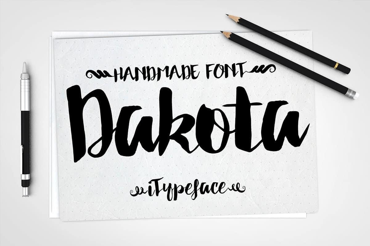 Download Dakota font (typeface)