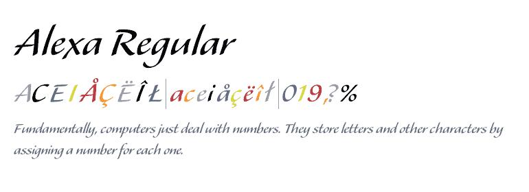 Download Aleх font (typeface)