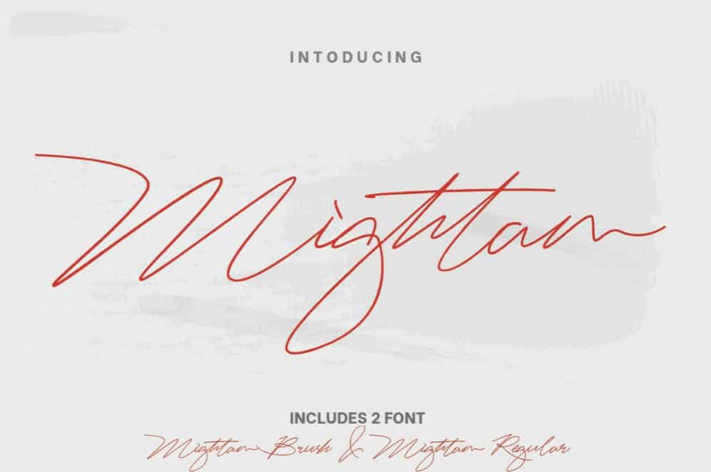 Download Mightam font (typeface)
