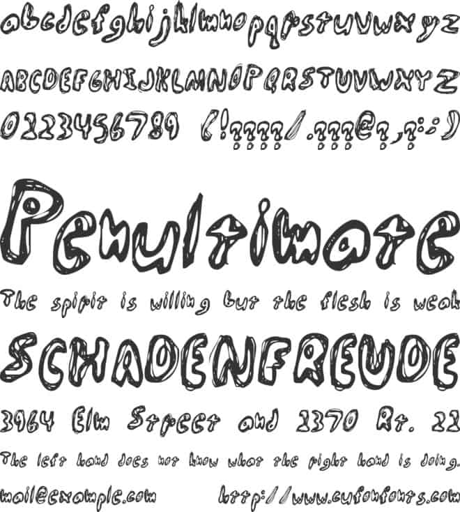 Download Abiscuos-Regular font (typeface)