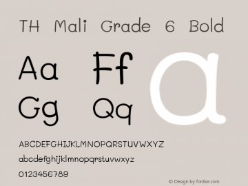 Download Mali font (typeface)