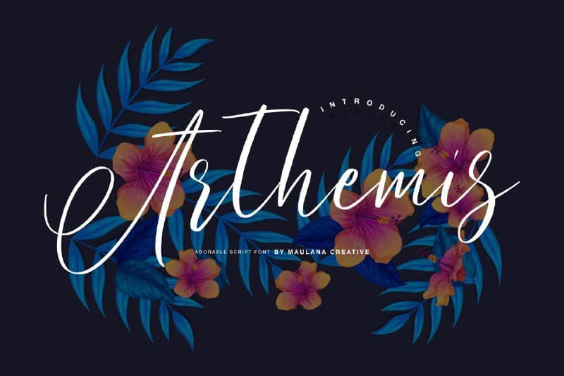 Download Arthemis font (typeface)