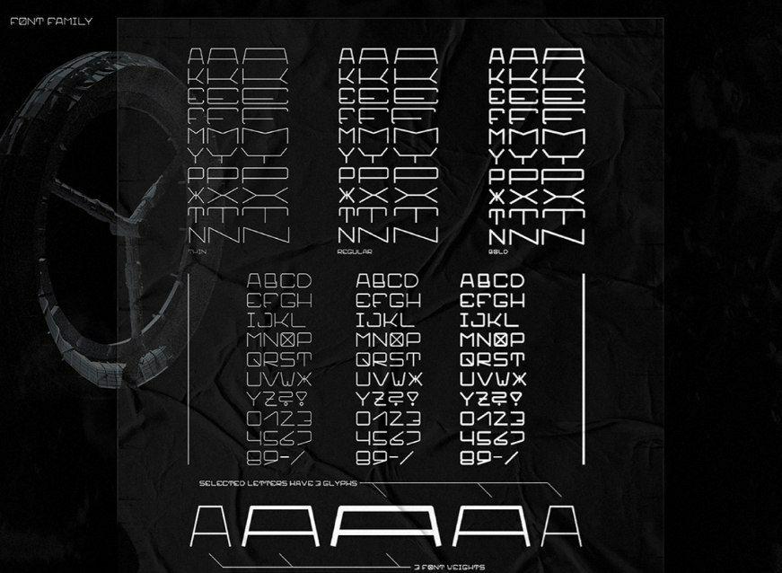 Download OBARNE-X font (typeface)