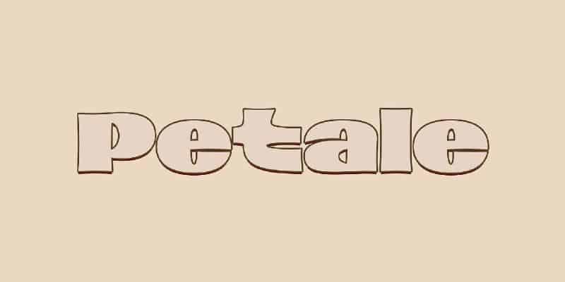 Download Petale font (typeface)