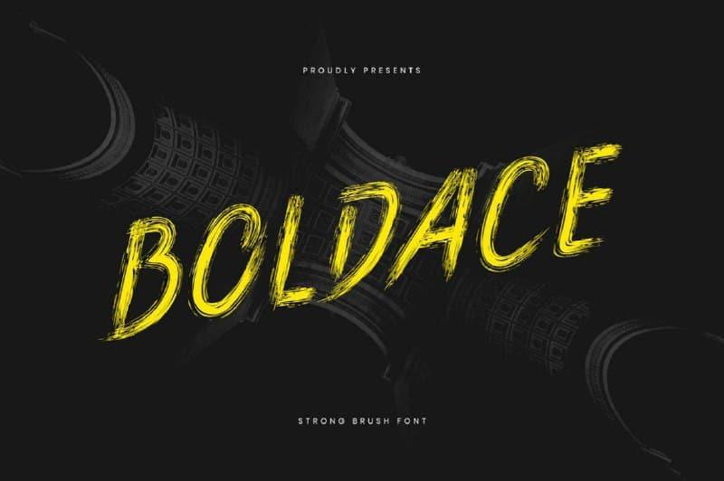 Download Boldace font (typeface)