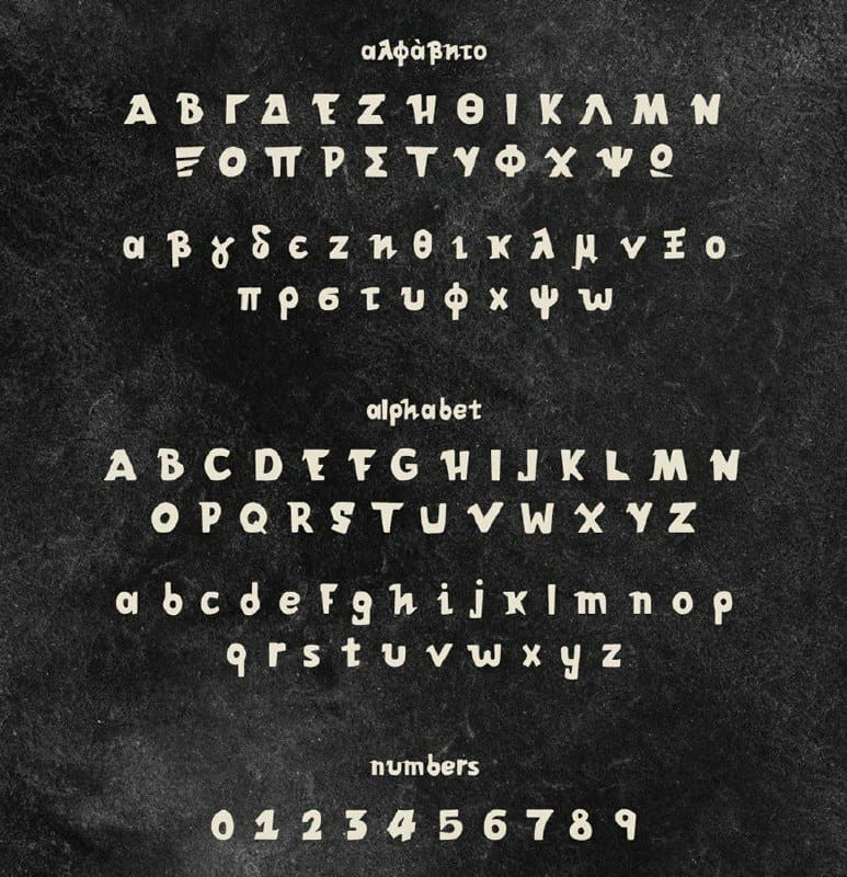 Download Athena New font (typeface)