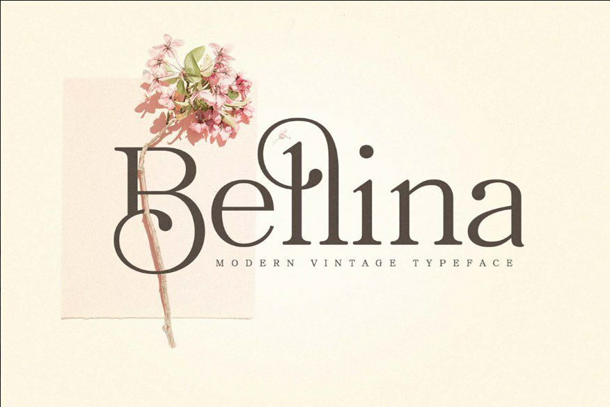 Download Bellina font (typeface)