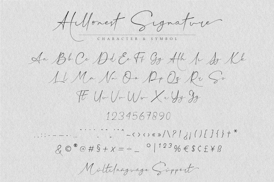 Download Hillonest font (typeface)