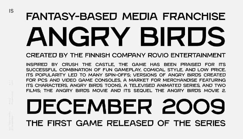Download Angry font (typeface)