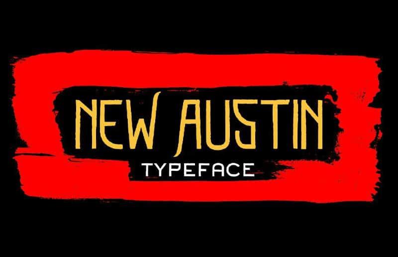 Download New Austin font (typeface)