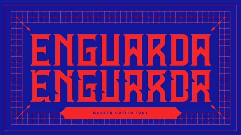 Download Enguarda font (typeface)