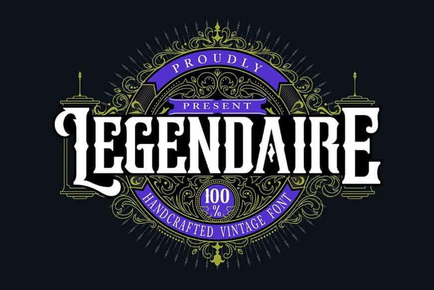 Download Legendarie font (typeface)