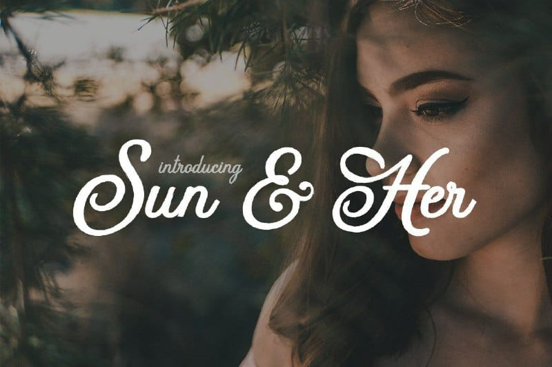 Download Sun&Her font (typeface)
