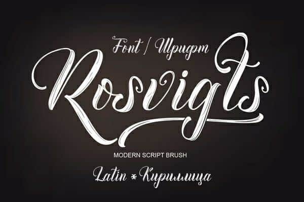 Download Rosvigts font (typeface)