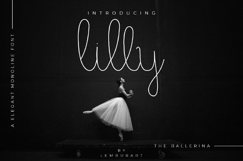 Download Lilly font (typeface)