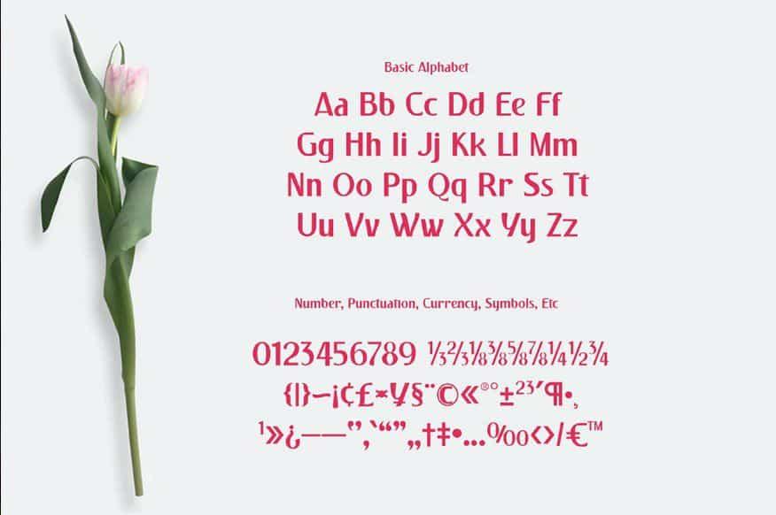 Download Pulchella font (typeface)