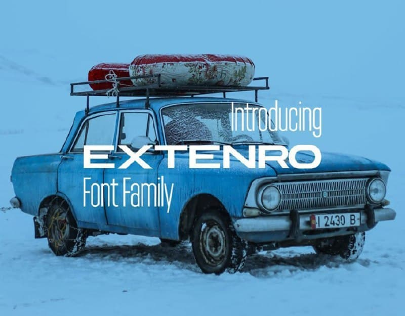 Download Externo font (typeface)