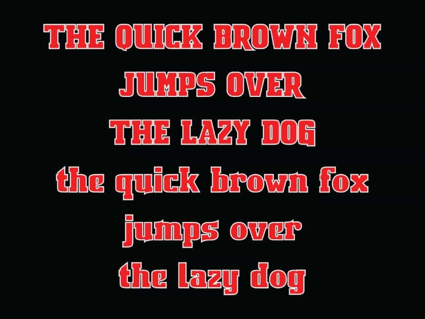 Download Bosih font (typeface)