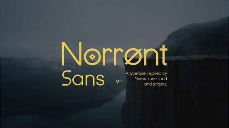 Download Norront font (typeface)