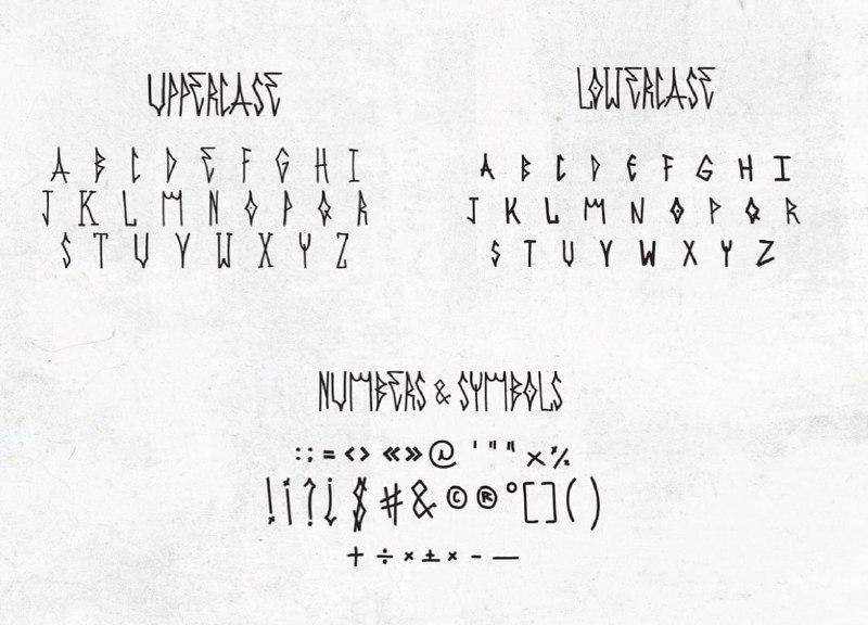 Download Сambucho font (typeface)