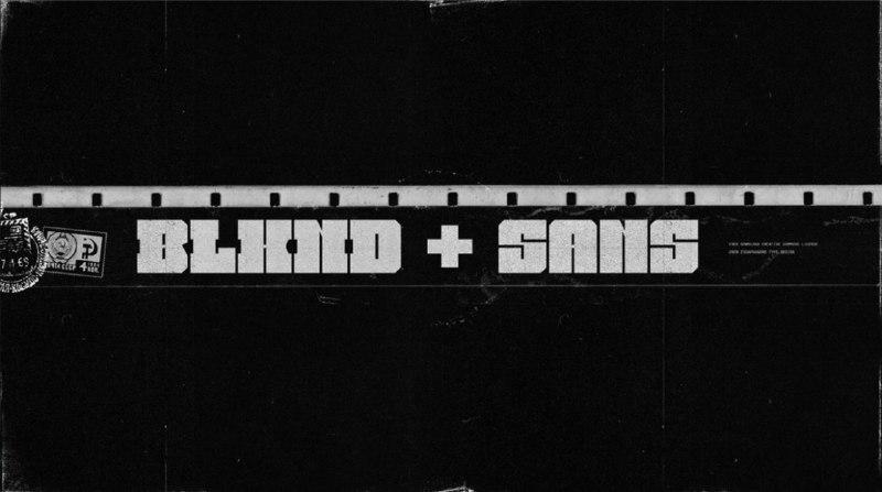 Download BLKND font (typeface)