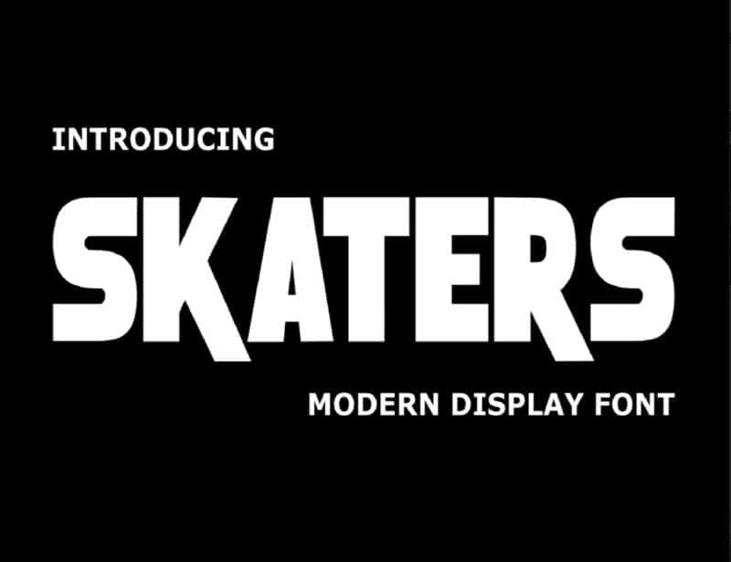 Download Skaters font (typeface)