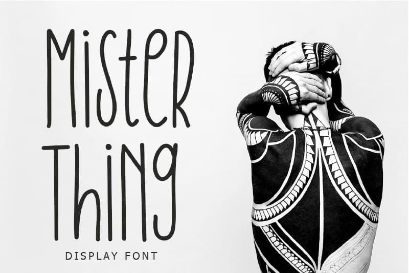 Download Mister Thing font (typeface)